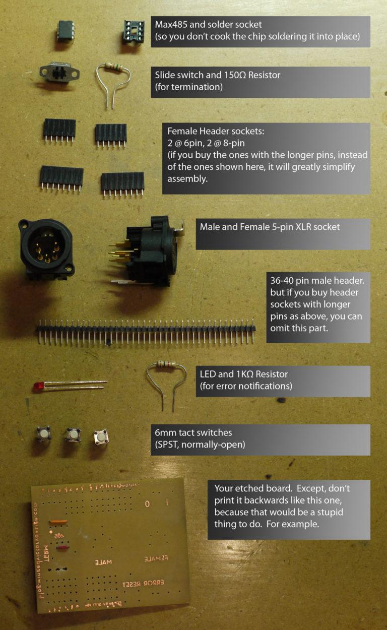 Arduino DMX-512 I/O Shield