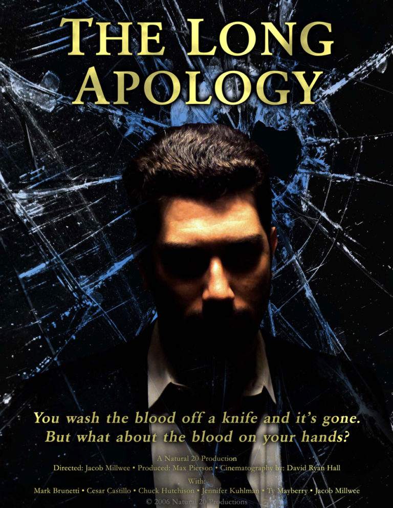 A DVD jacket for The Long Apology