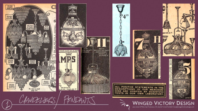 1920's Chandeliers
